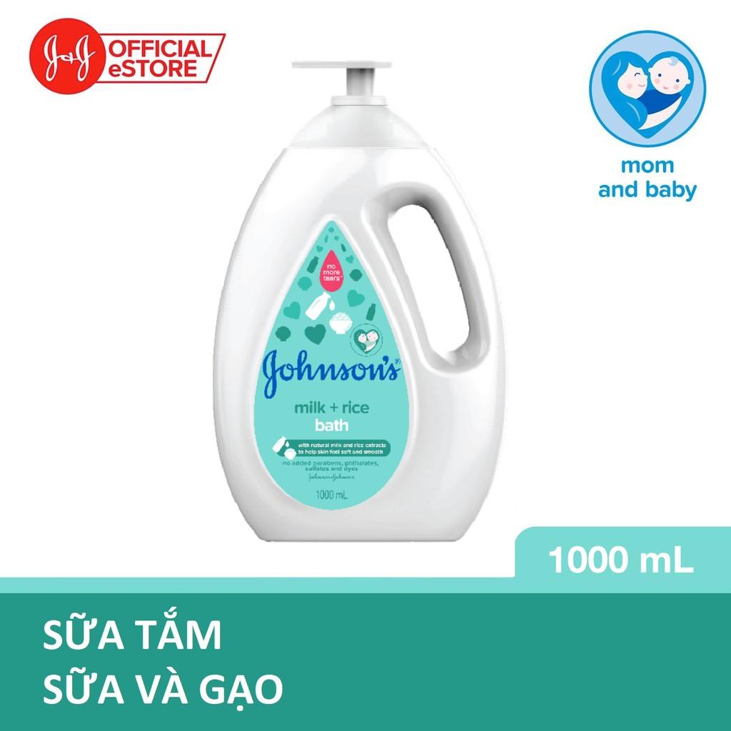 Sữa tắm Johnson's chứa sữa và gạo 1000ml - 100979992