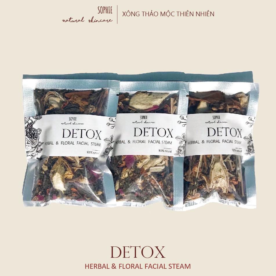 Detox Xông Hoa Thảo Mộc Bưởi Khô & Khổ Qua Sấy