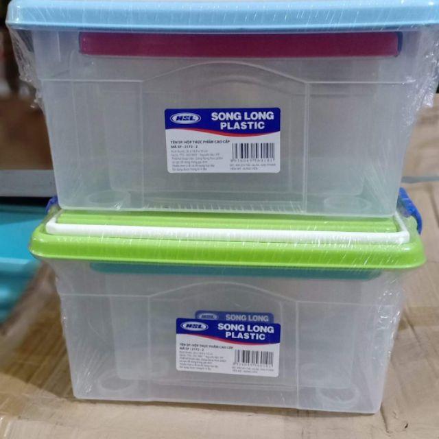 Bộ đôi hộp nhựa cao cấp