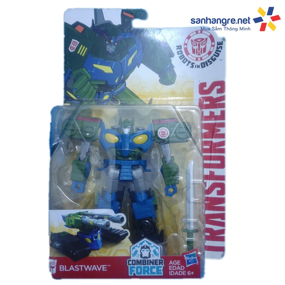 Đồ chơi Robot Transformers biến hình xe tăng Blastwave - 2455073 , 108147424 , 322_108147424 , 399000 , Do-choi-Robot-Transformers-bien-hinh-xe-tang-Blastwave-322_108147424 , shopee.vn , Đồ chơi Robot Transformers biến hình xe tăng Blastwave
