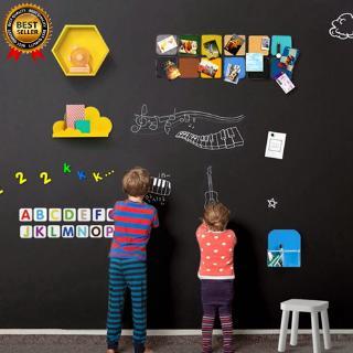 Giấy dán tường tự dính làm bảng đen cho trẻ em vẽ viết thumbnail