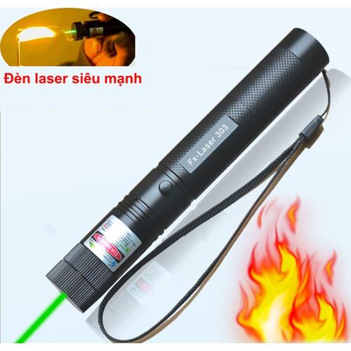 Đèn Pin Tia Laze Laser 303-H352 Cực Mạnh Loại 1 Tia Xanh