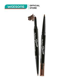 Chì Định Hình Mày 2 Đầu Silkygirl Perfect Brow - 02 Dark Brown 0.6g thumbnail