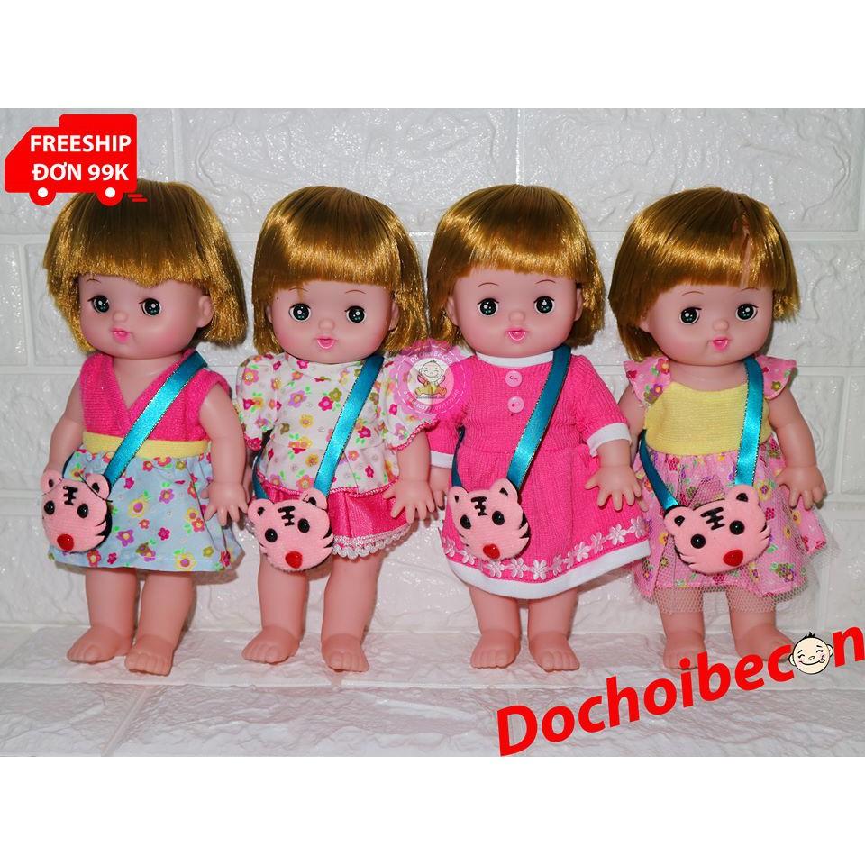 Búp bê Baby Doll Mell Chan mắt chớp 25cm: Dùng pin, biết hát