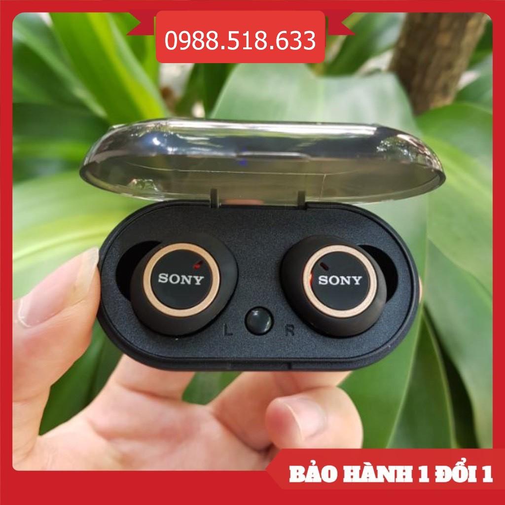 ( Nghe Không Hay Hoàn Tiền 100% )Tai nghe Bluetooth Đen Sony sport TWS-D76 Rất ấm Bass-treble Rõ Ràng Đẳng Cấp