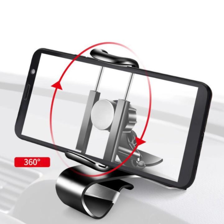 Gía đỡ điện thoại gắn, kẹp dùng trên ô tô cao cấp MPH-2