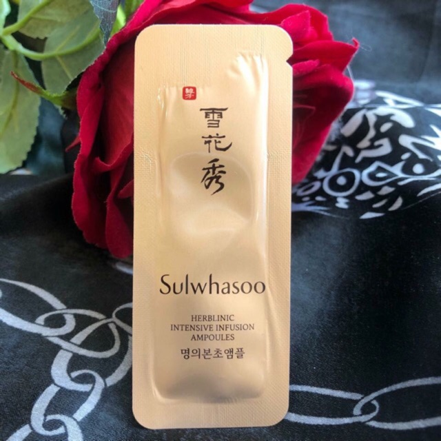 1 gói tinh chất Sulwhasoo Herblinic Intensive Infusion Ampoule (mẫu mới) - 2804333 , 474536569 , 322_474536569 , 11000 , 1-goi-tinh-chat-Sulwhasoo-Herblinic-Intensive-Infusion-Ampoule-mau-moi-322_474536569 , shopee.vn , 1 gói tinh chất Sulwhasoo Herblinic Intensive Infusion Ampoule (mẫu mới)