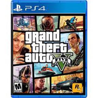 Đĩa Game PS4 Grand Theft Auto V-GTA5 thumbnail