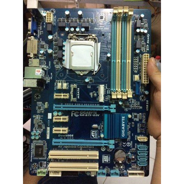 Mainboard gigabyte B75-D3H