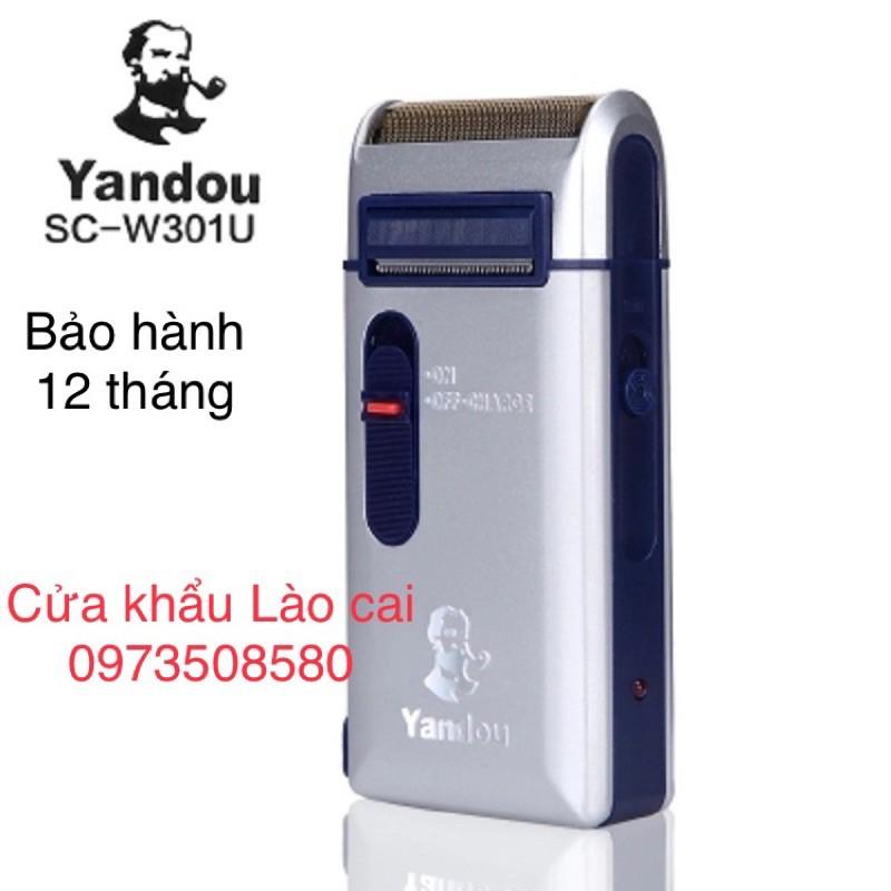 Máy cạo râu Yandou 301 Sc-W301U, Và loại yandou màu vàng Sc-W316U Cạo khô không đau rát,pin sạc tiện lợi