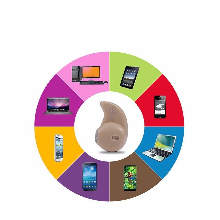 Tai Nghe Nhét Tai Bluetooth Nano S530 Mini Siêu Nhỏ Gọn