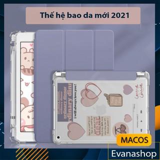 [DIY] Bao da Ipad pastel có khay đựng giữ bút, nhám mờ chống ố - Case ốp lưng mini Gen 7 8 10.2 10.5 Air 4 Pro 11 inch thumbnail