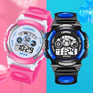 Đồng hồ điện tử chống thấm nước cho trẻ em