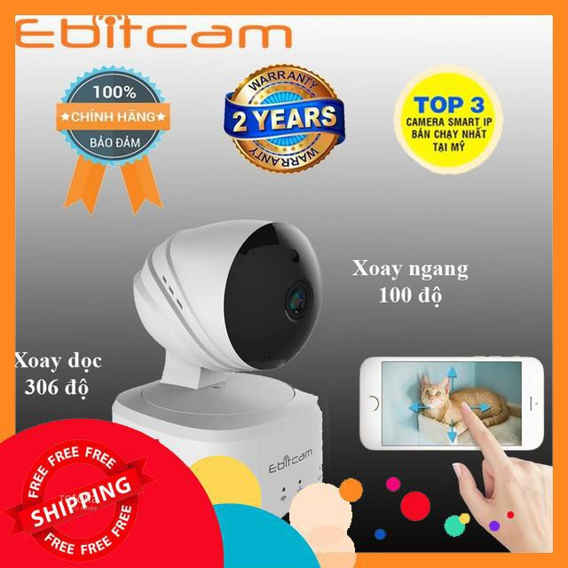 (Oto) Camera IP Wifi 1MP Ebitcam ..