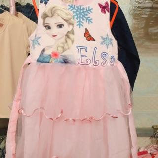 Váy elsa bé gái 12-25kg