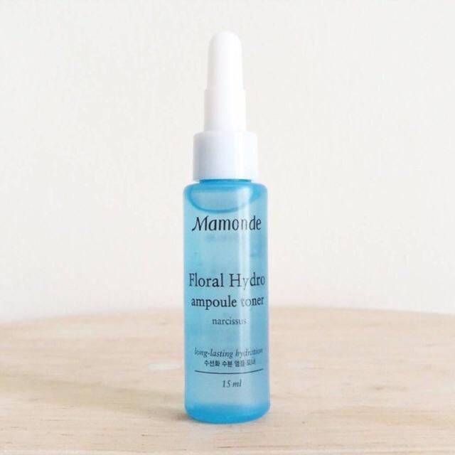 [Mini 15ml] Nước cân bằng Mamonde Floral Hydro Ampoule Toner