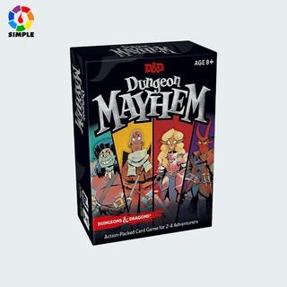 Dungeon Mayhem Card Game Bộ thẻ bài chơi game DnD Dungeon Mayhem thumbnail
