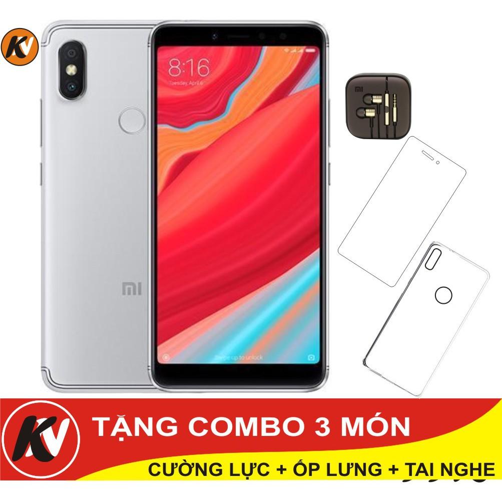 Combo Điện thoại Xiaomi Redmi S2 64GB Ram 4GB - Hàng nhập khẩu + Ốp lưng + Cường lực + Tai nghe - 3365583 , 1199700574 , 322_1199700574 , 7000000 , Combo-Dien-thoai-Xiaomi-Redmi-S2-64GB-Ram-4GB-Hang-nhap-khau-Op-lung-Cuong-luc-Tai-nghe-322_1199700574 , shopee.vn , Combo Điện thoại Xiaomi Redmi S2 64GB Ram 4GB - Hàng nhập khẩu + Ốp lưng + Cường lự
