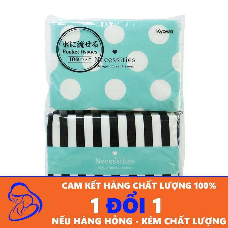 Set 10 gói giấy ăn bỏ túi hàng Nhật