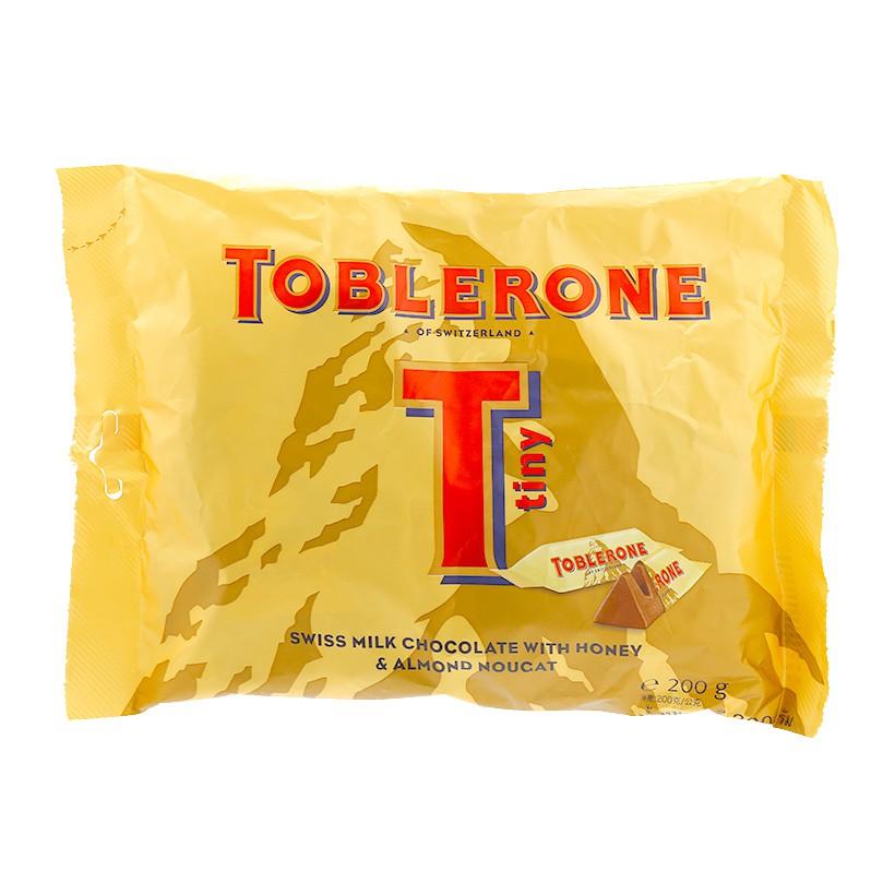 Sô cô la sữa Thụy Sỹ Toblerone Tiny gói 200g - 2514669 , 667198535 , 322_667198535 , 135000 , So-co-la-sua-Thuy-Sy-Toblerone-Tiny-goi-200g-322_667198535 , shopee.vn , Sô cô la sữa Thụy Sỹ Toblerone Tiny gói 200g