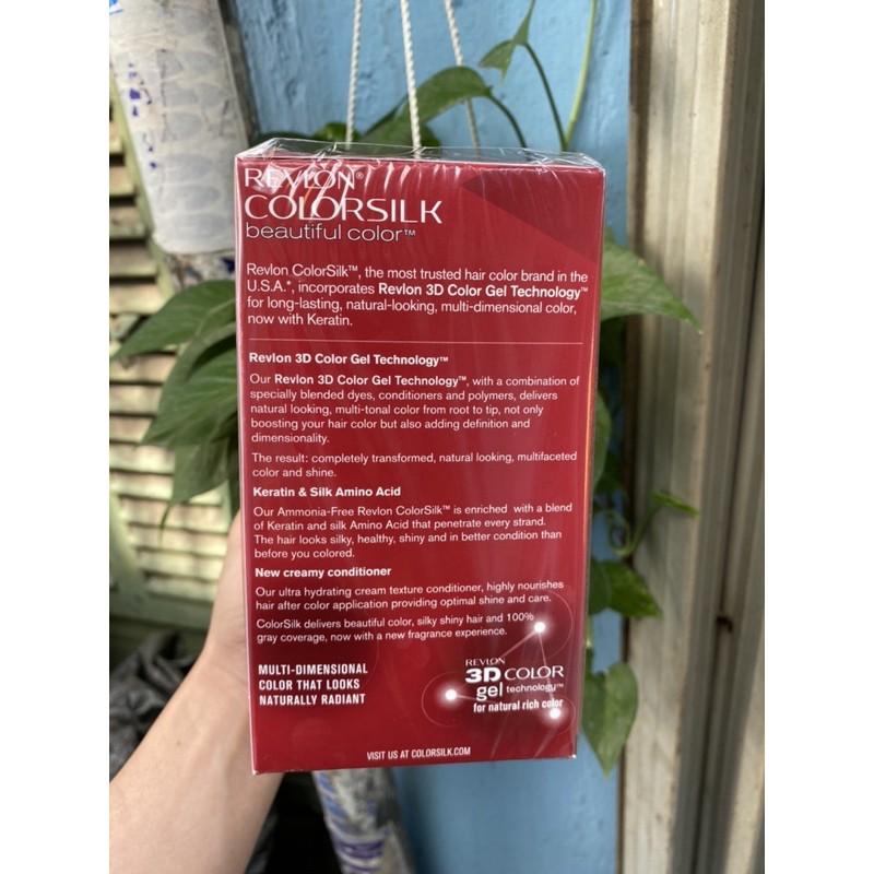 Thuốc Nhuộm Tóc Revlon Số 42 Hàng Mỹ Màu Nâu Đỏ Vừa