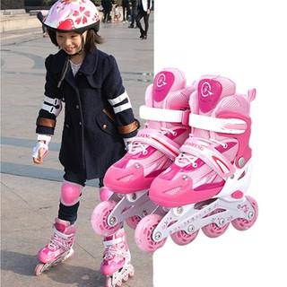Giày Trượt Patin Trẻ Em, Patin Cao Cấp, Giày Patin 8 Bánh Phát Sáng