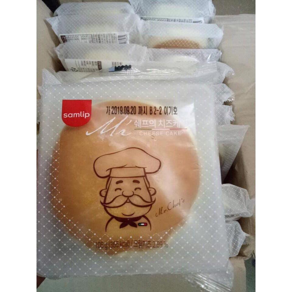 Bánh Phô Mai Ông Già Hàn Quốc 289k một thùng 36 cái
