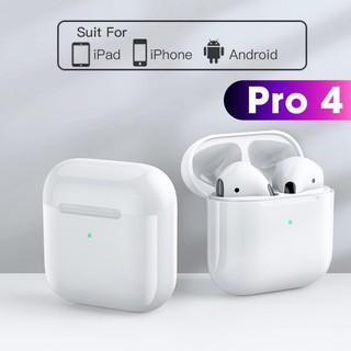 Tai nghe bluetooth Pro 4 airpod 5.0 TWS - Tai nghe nhét tai bluetooth thể thao không dây