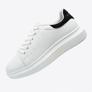 Giày Domba gót nhung đen H-9011 thumbnail