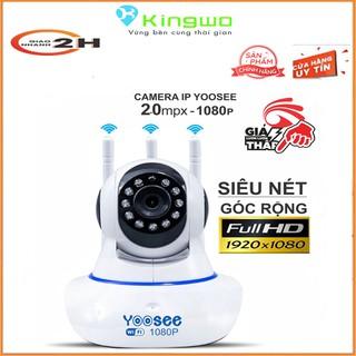 Camera wifi yoosee 3 râu Ful HD- 1080P xoay 360 Thế hệ mới hình ảnh sắc nét 2.0mp ,10 đèn hồng ngoại, ghi âm đàm thoại thumbnail
