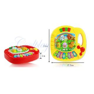 [HOT]Đồ Chơi Đàn Piano Điện chủ đề động vật dành cho bé – Toca Toys