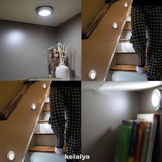 Wall Mounted Detecting Auto Pathways Motion Sensing Easy Install Stair Light