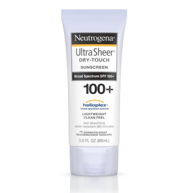 Kem chống nắng Neutrogena ultra sheer dry touch with spf100 88ml