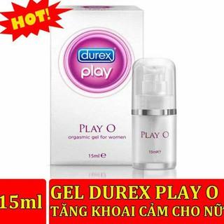 [Tặng Kèm 10 BCS] Gel Bôi Trơn Durex 15ml tăng khoái cảm Durex Play O Chất Lượng