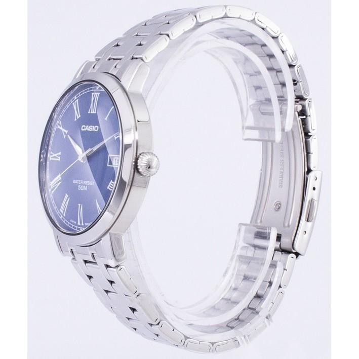 [Mã FARSBRT52 giảm 20% đơn từ 249K] Đồng hồ nam dây kim loại Casio chính hãng Anh Khuê MTP-E149D-2BVDF