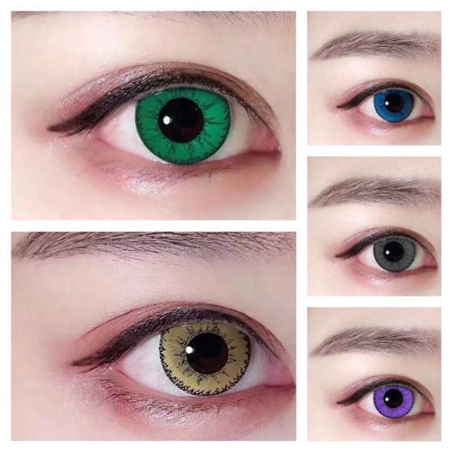 [Share Phá Giá] Lens 0 độ dùng cho Cosplay đủ màu