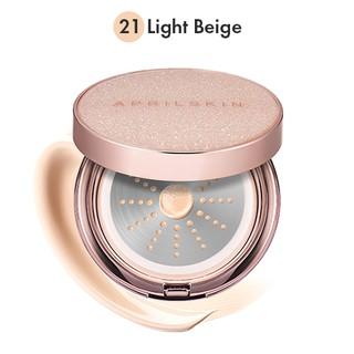Phấn Nước April skin Magic Essence Mist Cushion SPF50 PA++++ 13g (vỏ vàng) thumbnail
