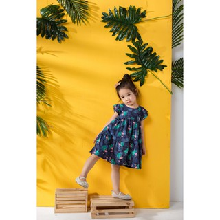 [LITTLE PINK] ARIEL COTTON DRESS – Váy thun 100% cotton bé gái
