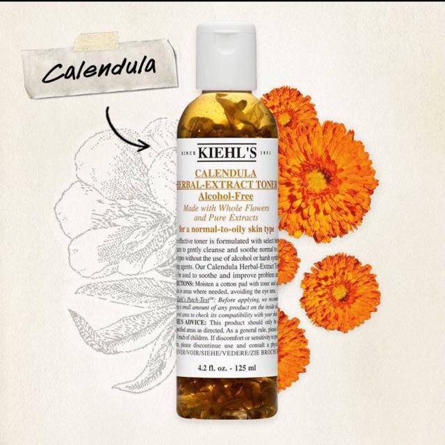 Kiehl's Calendula Herbal Extract Toner Hoa cúc 250ml | Shopee Việt Nam