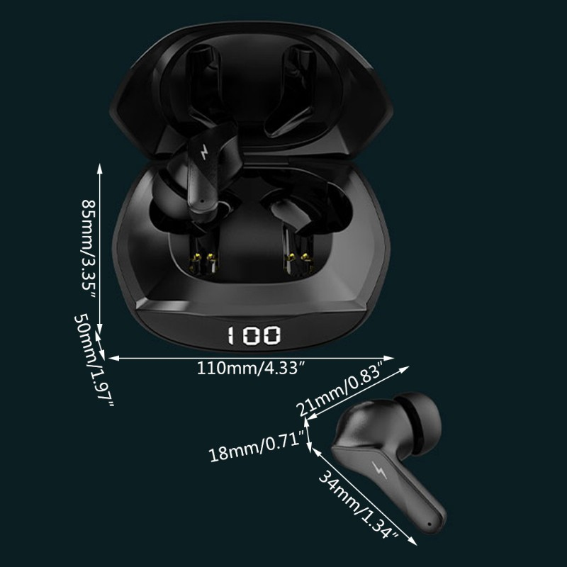 Tai Nghe Bluetooth 5.0 Ajazz A1 Tws Chống Ồn