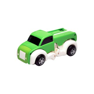 Lightweight Non-Toxic Plastic Transformation Car Dog Model Toy