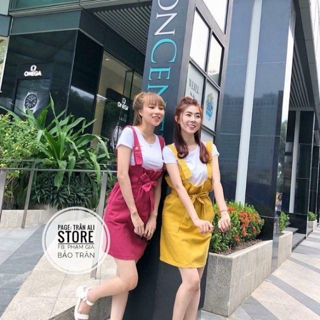 1117907064 - Xưởng may sỉ váy đầm giá rẻ. Đầm yếm cột