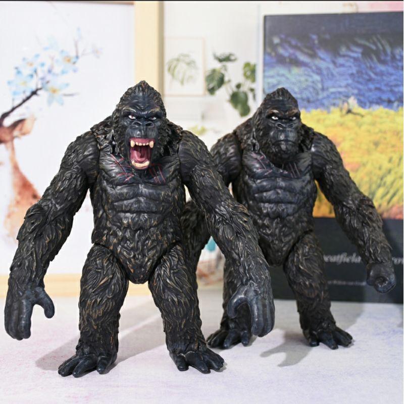 Mô Hình Đồ Chơi Nhân Vật Kingkong Gorila 9cm