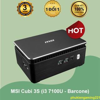 Máy Tính Mini MSI Cubi 3S (i3 7100U - Barcone) - Hàng Chính Hãng