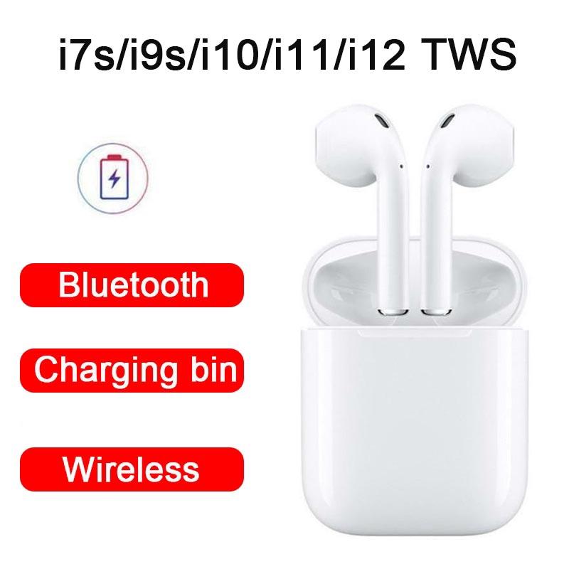 Tai nghe không dây kết nối Bluetooth i7s / i9s / i10 / i11 / i12 TWS - 14119788 , 2292855389 , 322_2292855389 , 150000 , Tai-nghe-khong-day-ket-noi-Bluetooth-i7s--i9s--i10--i11--i12-TWS-322_2292855389 , shopee.vn , Tai nghe không dây kết nối Bluetooth i7s / i9s / i10 / i11 / i12 TWS