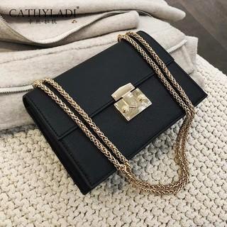 Túi xách nữ sang chảnh🔥 FREESHIP 🔥  Túi xách nữ đẹp CNK dáng hộp khóa vuông kim loại hiện đại