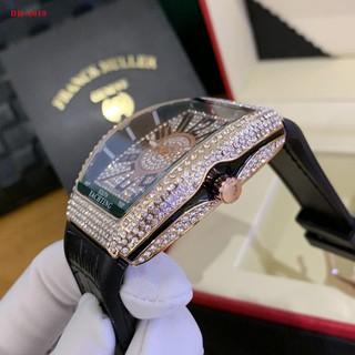 Đồng hồ nam FM-42 - Full Đá sang trọng, tặng hộp và bảo hành 12 tháng donghovip