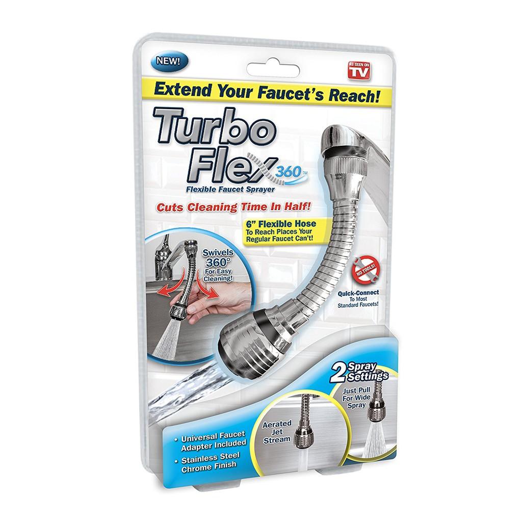 Vòi nối tăng áp lực nước Turbo Flex 360 - 10013596 , 508761818 , 322_508761818 , 39000 , Voi-noi-tang-ap-luc-nuoc-Turbo-Flex-360-322_508761818 , shopee.vn , Vòi nối tăng áp lực nước Turbo Flex 360