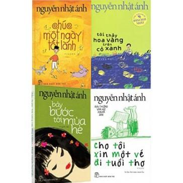 sách-4 cuốn Chúc một ngày tốt lành,tôi thấy hoa vàng trên cỏ xanh,bảy bước tới mùa hè,cho tôi xin mộ - 3534352 , 1157387618 , 322_1157387618 , 343000 , sach-4-cuon-Chuc-mot-ngay-tot-lanhtoi-thay-hoa-vang-tren-co-xanhbay-buoc-toi-mua-hecho-toi-xin-mo-322_1157387618 , shopee.vn , sách-4 cuốn Chúc một ngày tốt lành,tôi thấy hoa vàng trên cỏ xanh,bảy bước tới