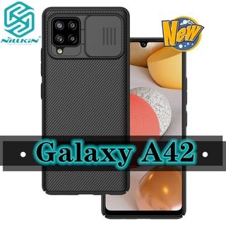 Nillkin Ốp Điện Thoại Pc Chống Sốc Có Nắp Trượt Bảo Vệ Camera Cho Samsung Galaxy A42 A42